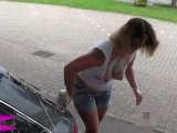 Amateurvideo Sexy Public Carwash von Siva_Deluxe
